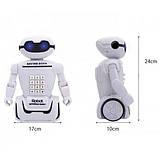 Дитяча іграшка робот скарбничка PIGGY BANK ART-6688-8 з настільної LED-лампою сейф з кодовим замком + Подарунок, фото 2
