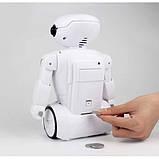 Дитяча іграшка робот скарбничка PIGGY BANK ART-6688-8 з настільної LED-лампою сейф з кодовим замком + Подарунок, фото 3