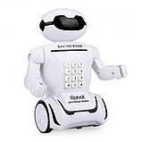 Дитяча іграшка робот скарбничка PIGGY BANK ART-6688-8 з настільної LED-лампою сейф з кодовим замком + Подарунок, фото 4