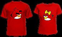 """Парные футболки """"Angry Birds"""""""