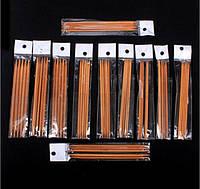 Бамбуковые спицы 3,75мм (набор из 5-х штук)