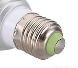 Мультицветная светодиодная лампа с пультом ДУ RGB 4W Е27, фото 2