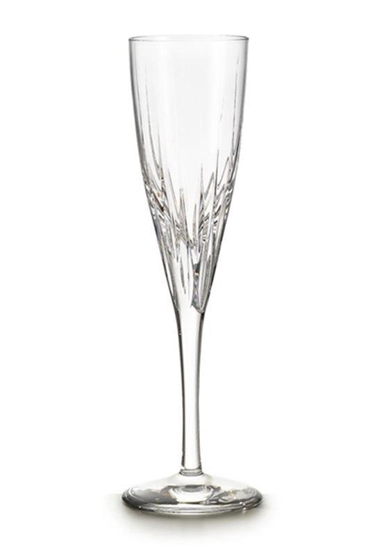 Набор 4 хрустальных фужера Atlantis Crystal FANTASY 125мл для шампанского 6295AFL08-1836
