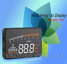 X5 Бортовий комп'ютер, проектор на лобове скло HUD OBD2