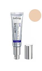 IsaDora All Day Active Wear Make-Up 24hrs Foundation Тональний крем 10