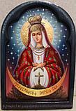 Икона писаная Остробрамская Божья Матерь, фото 2