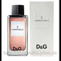 Женская туалетная вода Dolce&Gabbana 3 L'Imperatrice 100 мл (Euro A-Plus)