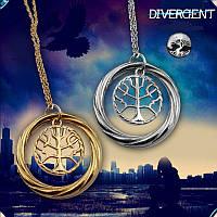 Кулон символ Дружелюбия Дивергент