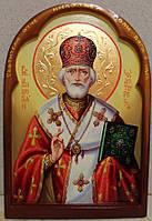 Икона писаная на доске Святой Николай Чудотворец