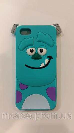 3D силиконовый чехол Sally Monster для iPhone 5\5S