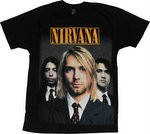 Футболка Nirvana (фото группы), фото 1