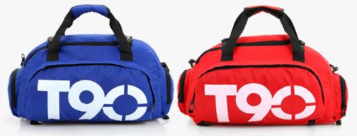 Сумка-рюкзак спортивний яскрава Т90