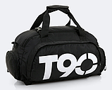 Сумка-рюкзак спортивний яскрава Т90, фото 2