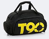 Сумка-рюкзак спортивний яскрава Т90, фото 3