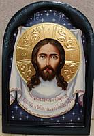 Икона писаная маслом Спас Нерукотворный