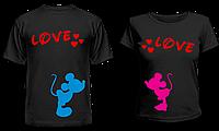 """Парные футболки """"Мышки"""""""