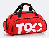 Сумка-рюкзак спортивний яскрава Т90, фото 8