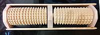Массажер деревянный для ступней (2 ролика)