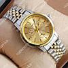 Надежные наручные часы Tissot Quartz 004 Silver-gold/Gold 2217