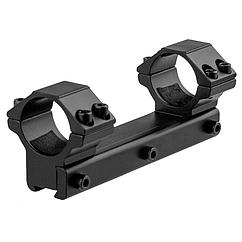 """Кріплення-моноблок на зброю Beeman FTMA086 (1"""", 11мм), низьке кріплення"""