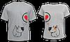 """Парные футболки """"Пёсики"""""""