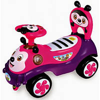 Alexis Машинка-каталка Alexis Babymix 7625 (pink)