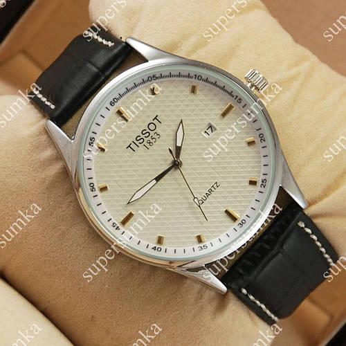 Классические наручные часы Tissot Quartz Silver/White 2221