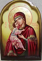 Икона писаная Владимирская Божья Матерь