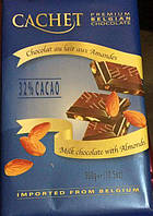 Cachet Кашет молочный шоколад с миндалем  32% какао