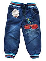 Детские джинсы на мальчика. 0.5-4 года. Синие. Оптом., фото 1