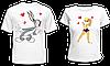 """Парные футболки """"Багз Банни и Лола"""""""
