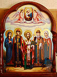 Икона Семейная писаная под заказ, фото 2