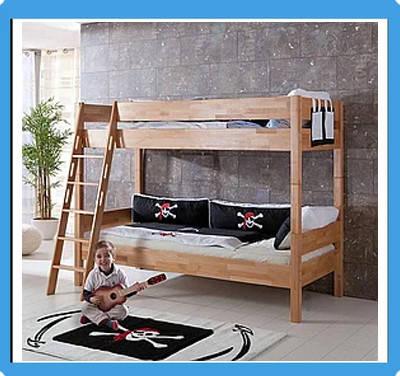 Ліжка дитячі, двохярусні, ліжко горище