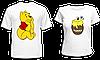 """Парные футболки """"Винни и мёд"""""""