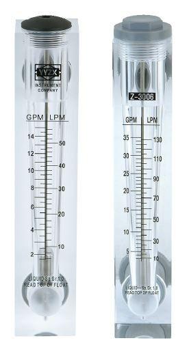 """Ротаметр панельного типа Z-300K7, 1"""", 10-130 л/мин (без регулятора потока)"""