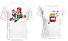 """Парные футболки """"Карлсон и варенье"""""""