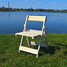 Складной стульчик со спинкой