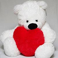 Плюшевая игрушка мишка, размер - 95 см. Популярная игрушка. Уникальная мягкая игрушка. Код: КЕ443-5