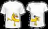 """Парные футболки """"Котопёс"""""""