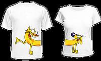 """Парные футболки """"Котопёс"""", фото 1"""