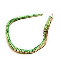 Игрушка деревянная Змея