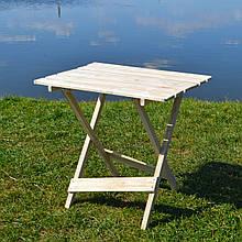 Складной деревянный стол