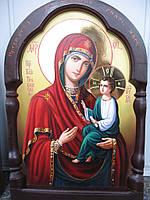 Тихвинская икона Божией Матери писаная