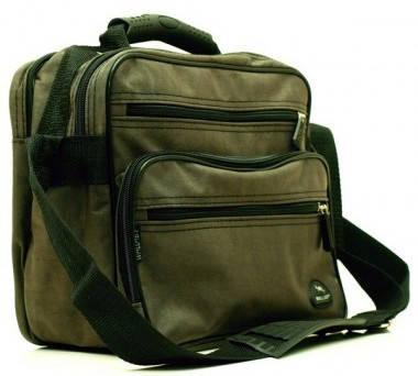 Интересная вместительная сумка мужская из жатки Wallaby 2407 Khaki