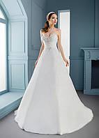 Свадебное платье для любительниц богатых, расшитых корсетов