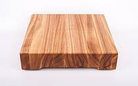 Кухонная доска для рубки, разделки и отбивания мяса из ясеня 40х60х8 см
