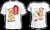 """Парные футболки """"Мишки - 2"""""""