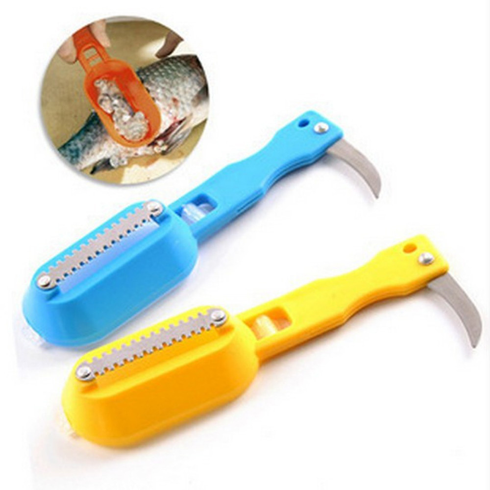 Рыбочистка, нож для чистки чешуи SHARPENER
