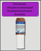"""Картридж обезжелезивающий и полипропиленовое волокно FCCFE-СТО 10"""" 2 1/2"""""""