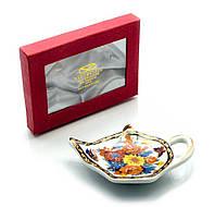 """Подставка под чайные пакетики Yamasen (TBP1020) """"Цветы"""""""